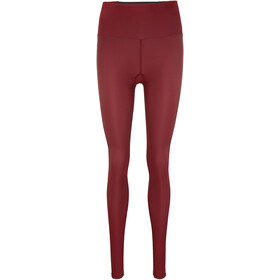 Skins Series-3 Compression Long Tights Women, burgundy